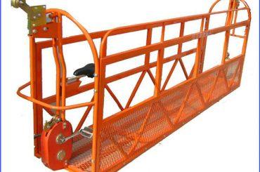 1000 kg 7,5 mx 3 sekcijos Aliuminio lydinio pakabinamos darbo platformos ZLP1000