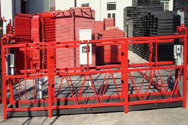 pastato valymas pakabinama darbinė platforma zlp800 su 800kg nominalia apkrova