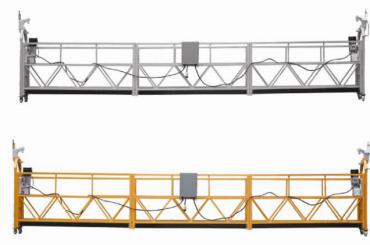 3 fazių virvių pakabinama platforma karštai cinkuota 7,5 m zlp800a sienų tapybai