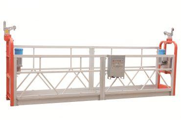 Zlp630 dažytos plieno fasadų valymas pakabinamas darbinės platformos