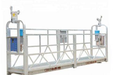 10m 800kg pakabinamos pastolių sistemos aliuminio lydinys, kurio kėlimo aukštis 300 m