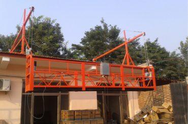 virvių pakabos platforma