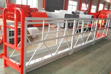 2 skyriai 500kg pakabinta darbo platforma su 3 svoriu