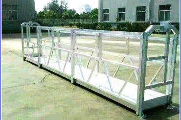 Plieno / aliuminio pakabinamos darbo platformos su SAL serijos saugos užraktu