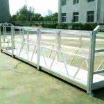 skirtingos modelio elektrinės konstrukcijos darbo platformos šakės