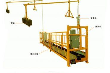 Gamyklinis pardavimas geros kokybės elektrinis keltuvas pakabinamoms platformoms iš tiesioginio gamintojo