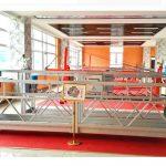 ZLP630 aliuminio pakabinama platforma (ce iso gost) / aukšto lango valymo įranga / laikina gondola / lopšys / sūpynės etapas karštas