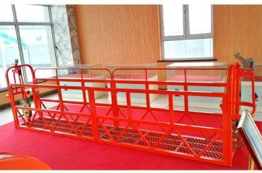 Plieninė pakabinama platforma 7.5m 1.8kw 800kg pastato priežiūra