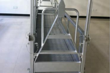 pakabinama plieno darbo platforma / pakabinama plieninė platforma