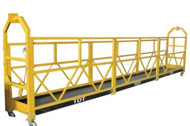 Plieninis karšto cinkuoto aliuminio lydinio virvelės pakabinamas platforma 1.5KW 380V 50HZ