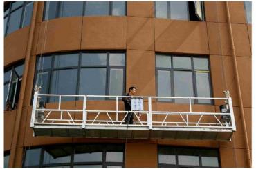 Zlp630 lango valymas trosu pakabinama platforma