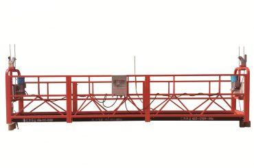 plieno / karštai cinkuota laikina pakabinama platforma, zlp500 priežiūros lopšys