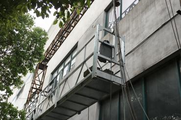zlp1000 2.5m * 3 2.2kw 8kn pakabinamos prieigos lopšiai su elektrine valdymo sistema