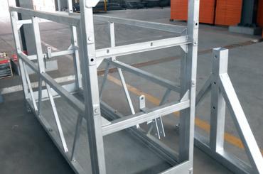 aukšto saugos trosų pakabinamų platformų liftų montavimo platforma zlp630 zlp800 zlp1000