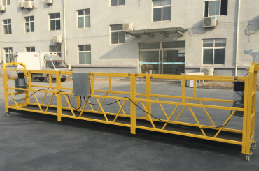 galinga 6 metrų trosas su pakabinta gondola platforma su sija