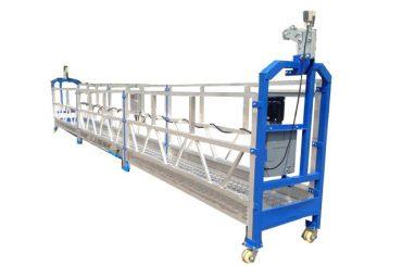 500 kg 2 m * 2 sekcijos aliuminio lydinio pakabinamos prieigos įranga zlp500