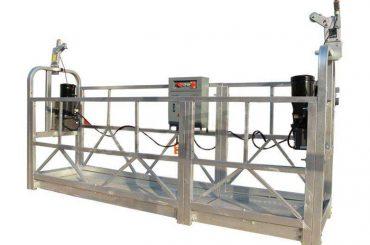 ZLP serija karštai cinkuota / aliuminio pakabinama platformos laikiklis aukštybinių pastatų sienų dažymui, stiklo valymui