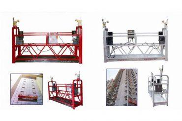 lynų pakabinimo pakabinamas prieigos platforma, zlp630 statybos lifto gondola mašina